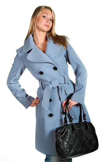 пальто 2012 весна драповое женское.
