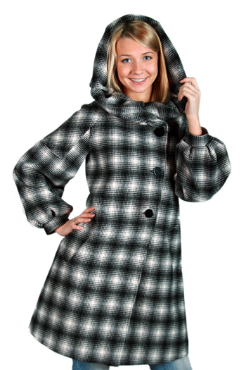 Драповое пальто из итальянского драпа